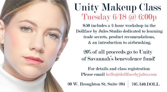 Unity Makeup Class